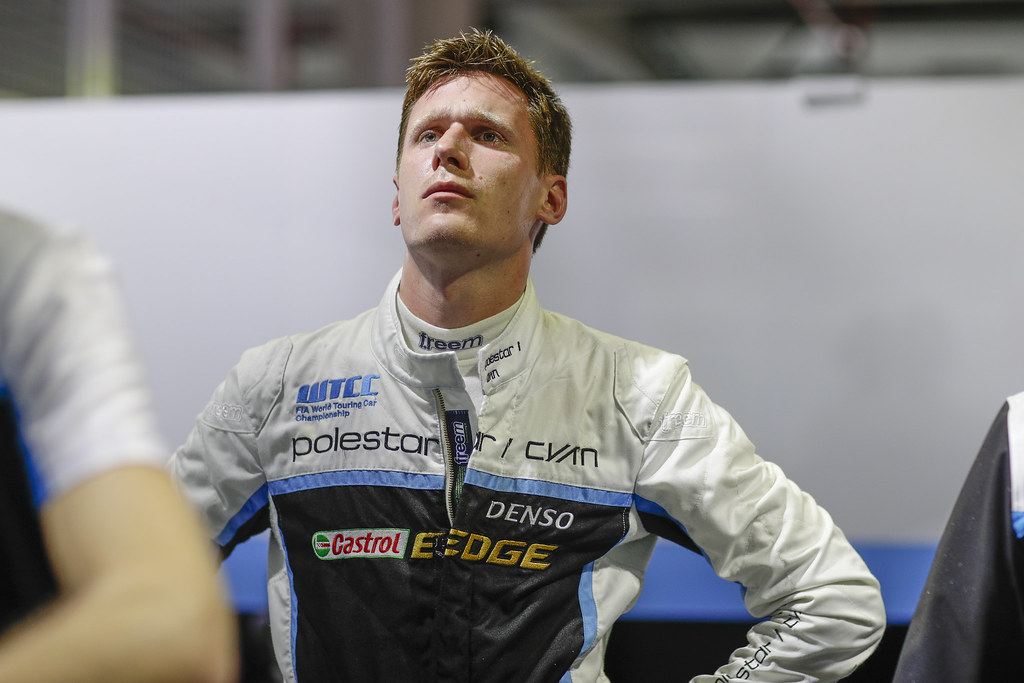 CATSBURG Nicky (ned) Volvo S60 Polestar team Polestar Cyan Racing ambiance portrait   during the 2017 FIA WTCC World Touring Car Championship at Shanghai, China, ningbo,13 to 15 - Photo Frederic Le Floc'h / DPPI