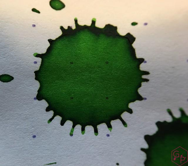 Ink Shot Review @RobertOsterInk Ryde Green @MilligramStore 11