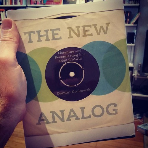 Very pleased to hear that Damon's very excellent book The New Analog will be getting a UK release soon ~ quite looking forward to coming across a copy in a Waterstones! I wonder if it will also be getting its missing u and e when it gets here :)