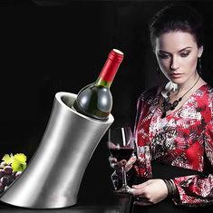 Double Layer Stainless Steel Ice Bucket Barrel Bar Wine Beer Cooler (1003917) #Banggood
