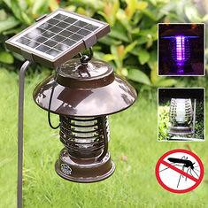 Garden Solar Power Anti-mosquito LED Light Indoor Outdoor Waterproof Mosquito Killer Lamp (1075603) #Banggood