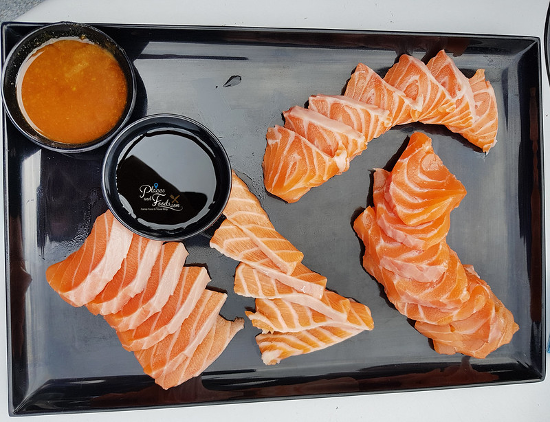 tasmania seafood seduction salmon sashimi