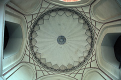 Ceiling in portal to Humayun's Tomb, Delhi, India