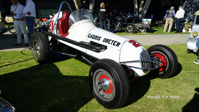 1947 Dreyer Sprint Car at Red White and Blue theme Art Center Car Classic 2017