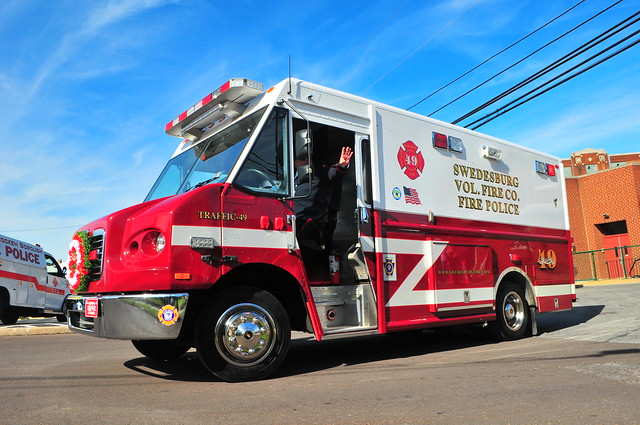 Swedesburg Volunteer Fire Company Traffic 49