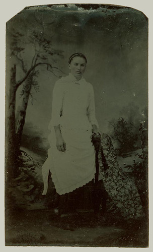 Tintype young woman