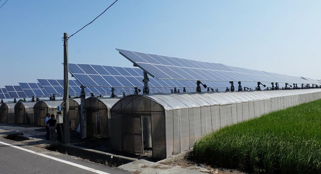 綠源科技位於雲林的另一個追日型太陽光電場域。攝影:陳文姿