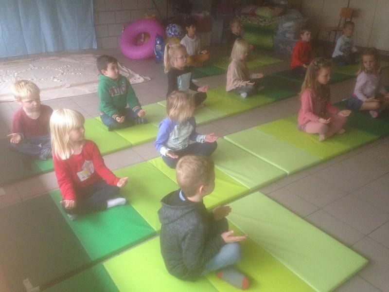 yoga en schrijfdans