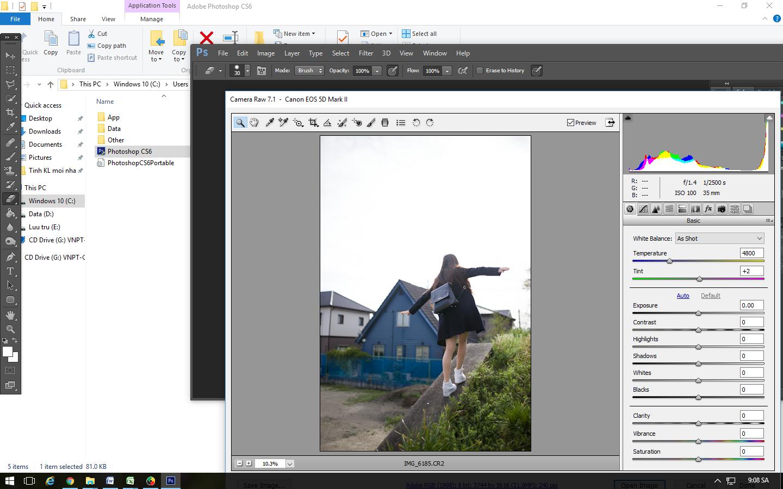 ĐỒ HOẠ Photoshop CS6 bản Portable kèm Plugin chỉnh ảnh chân dung (240Mb)
