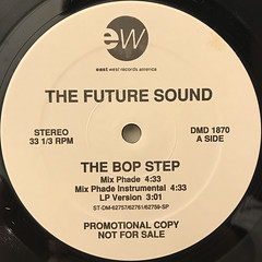 THE FUTURE SOUND:THE BOP STEP(LABEL SIDE-A)
