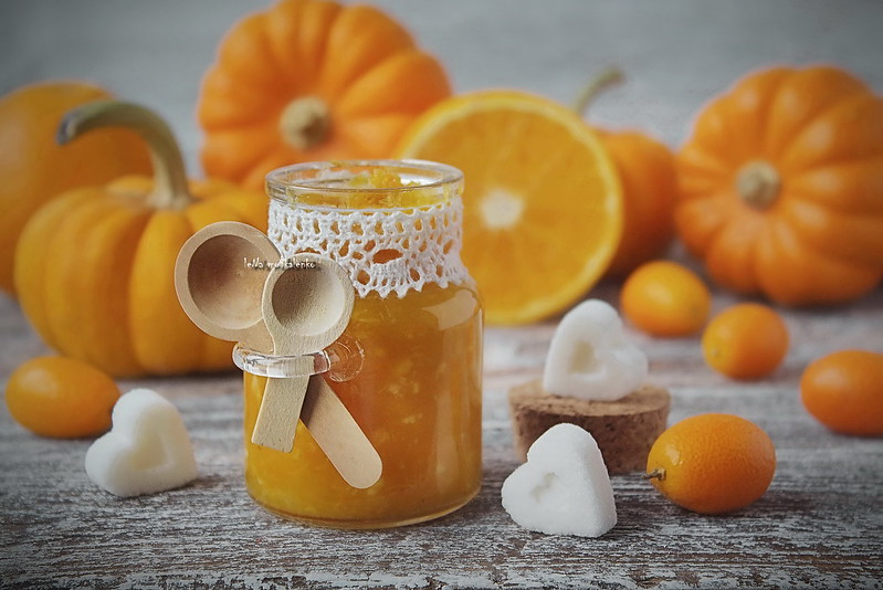 ...pumpkin jam with orange