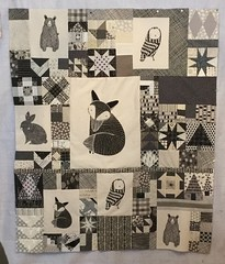 Thicket quilt top