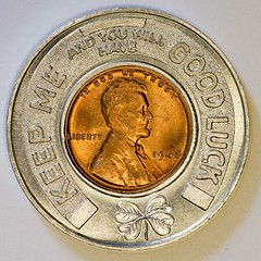 1946 Arko-Lewis Associates Encased Cent obverse