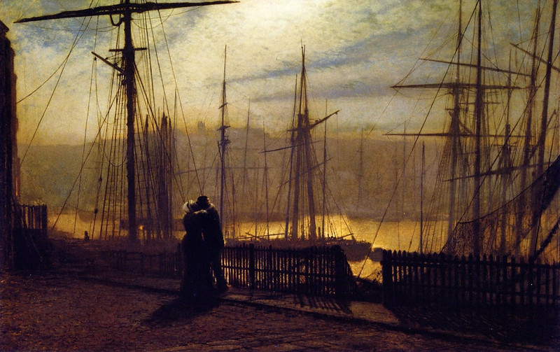 Home Again by John Atkinson Grimshaw, 1877