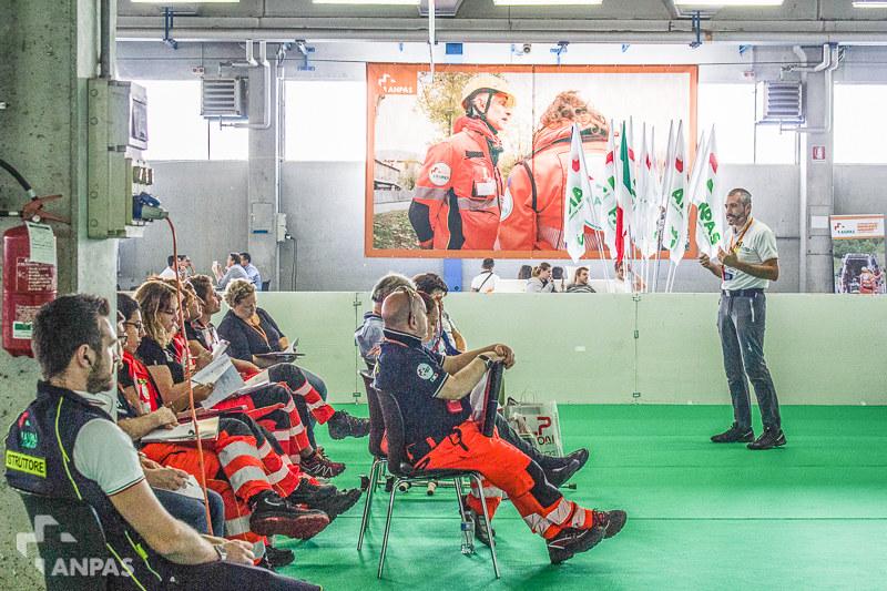 Anpas al Reas 2018: i corsi di formazione in Piazza Anpas