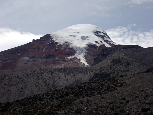 ecuador andes chimborazo hiking trekking mountaineering