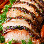 Brown Sugar Dijon Pork Loin