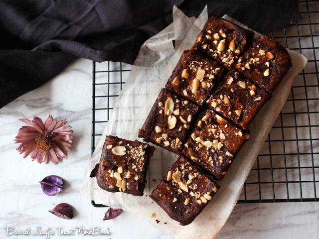 純素焦糖大理石布朗尼 vegan-caramel-marbled-brownies (9)