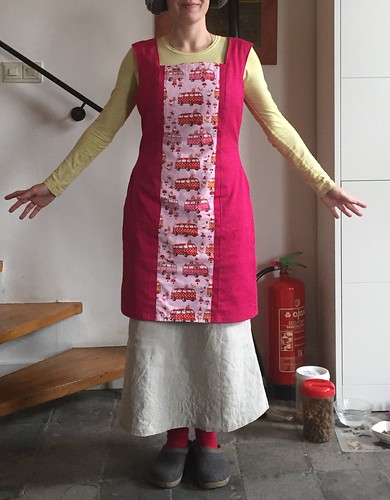 hand sewn dress