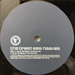 THE BRAND NEW HEAVIES:YOU ARE THE UNIVERSE(LABEL SIDE-B)