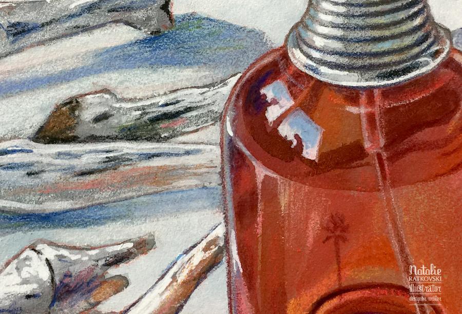 Eau de parfum, detail