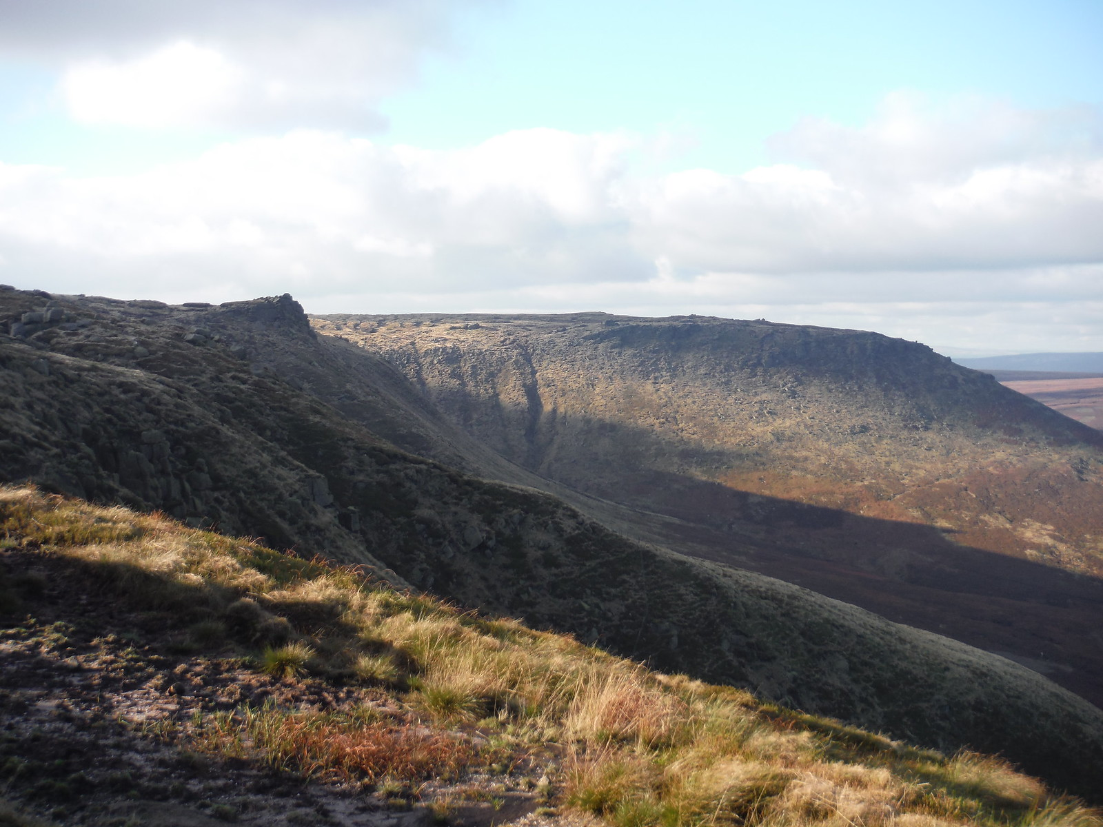 Seal Edge and Fairbrook Naze SWC Walk 304 - Kinder Scout Circuit (from Edale)