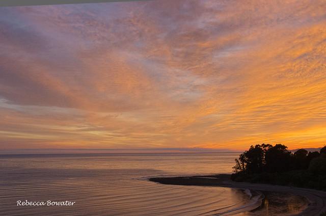 Sunrise at Parapara Beach Golden Bay