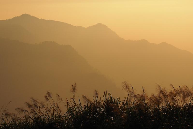 日落二延平山|Sunset