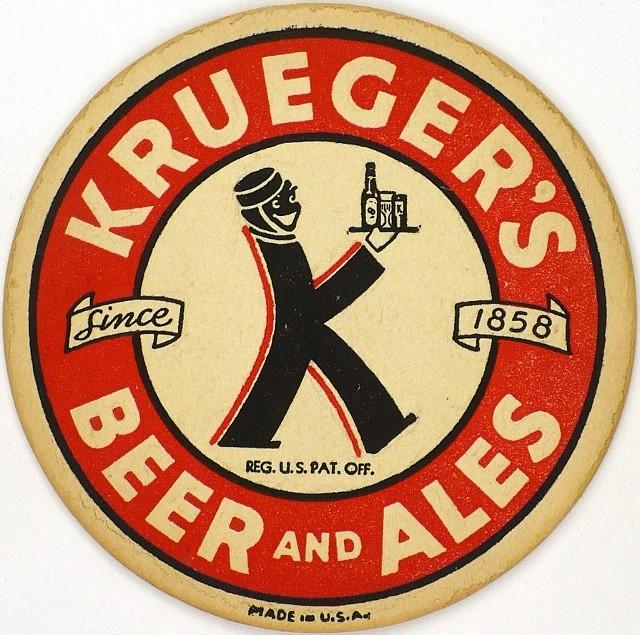Krueger-BeerAles-Coasters-G-Krueger-Brewing-Company