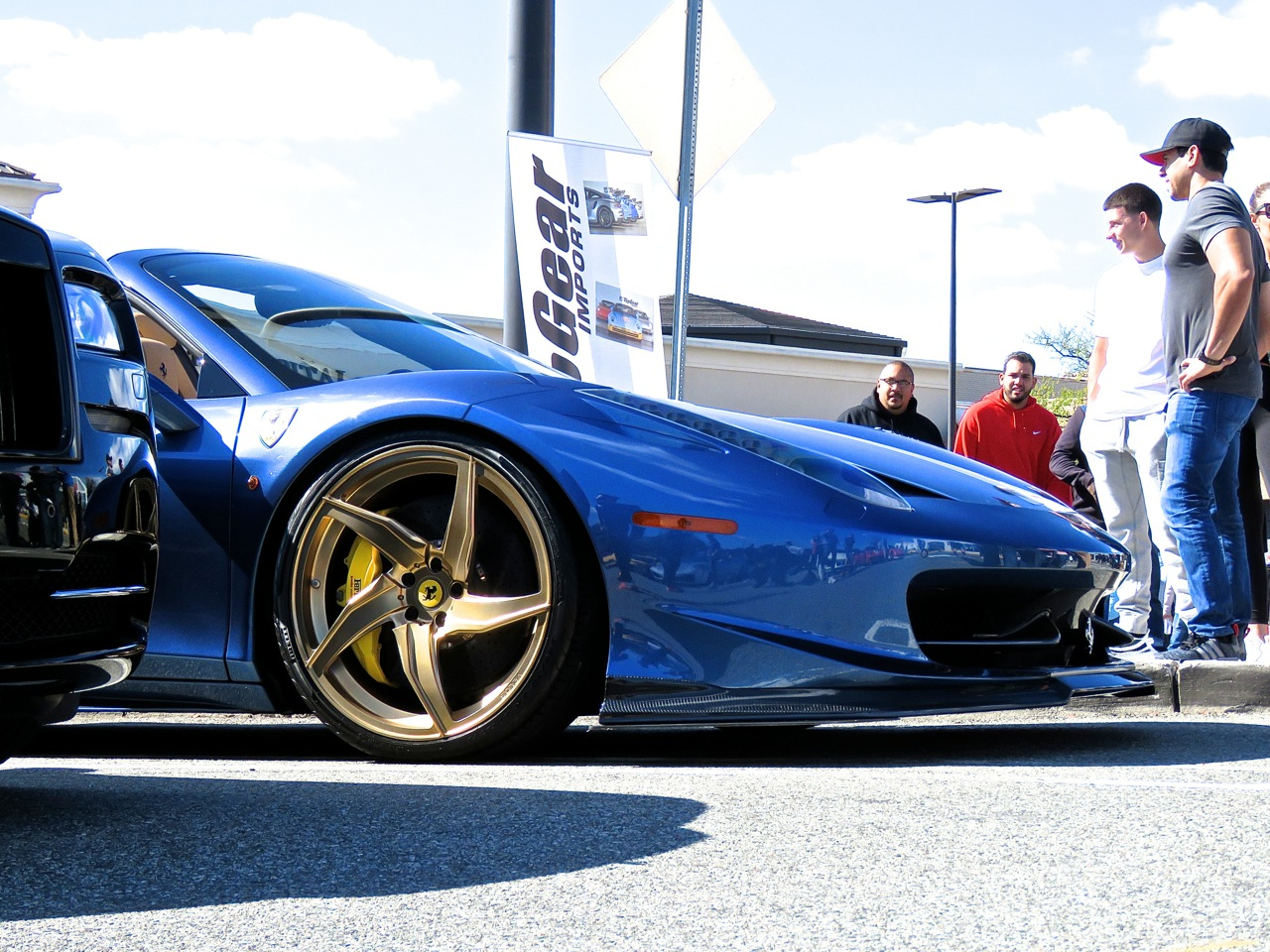 Ferrari 458 at Garden State Plaza