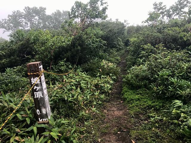 乗鞍岳 平湯・乗鞍新登山道 平湯まで8.6km