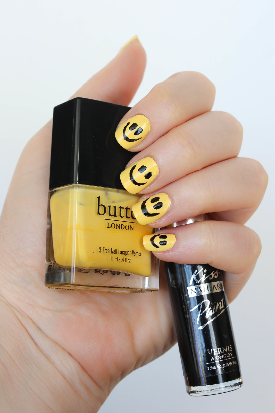 3 Ways to Celebrate World Smile Day Smiley Face Manicure