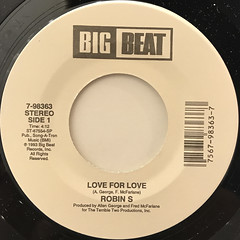 ROBIN S:LOVE FOR LOVE(LABEL SIDE-A)