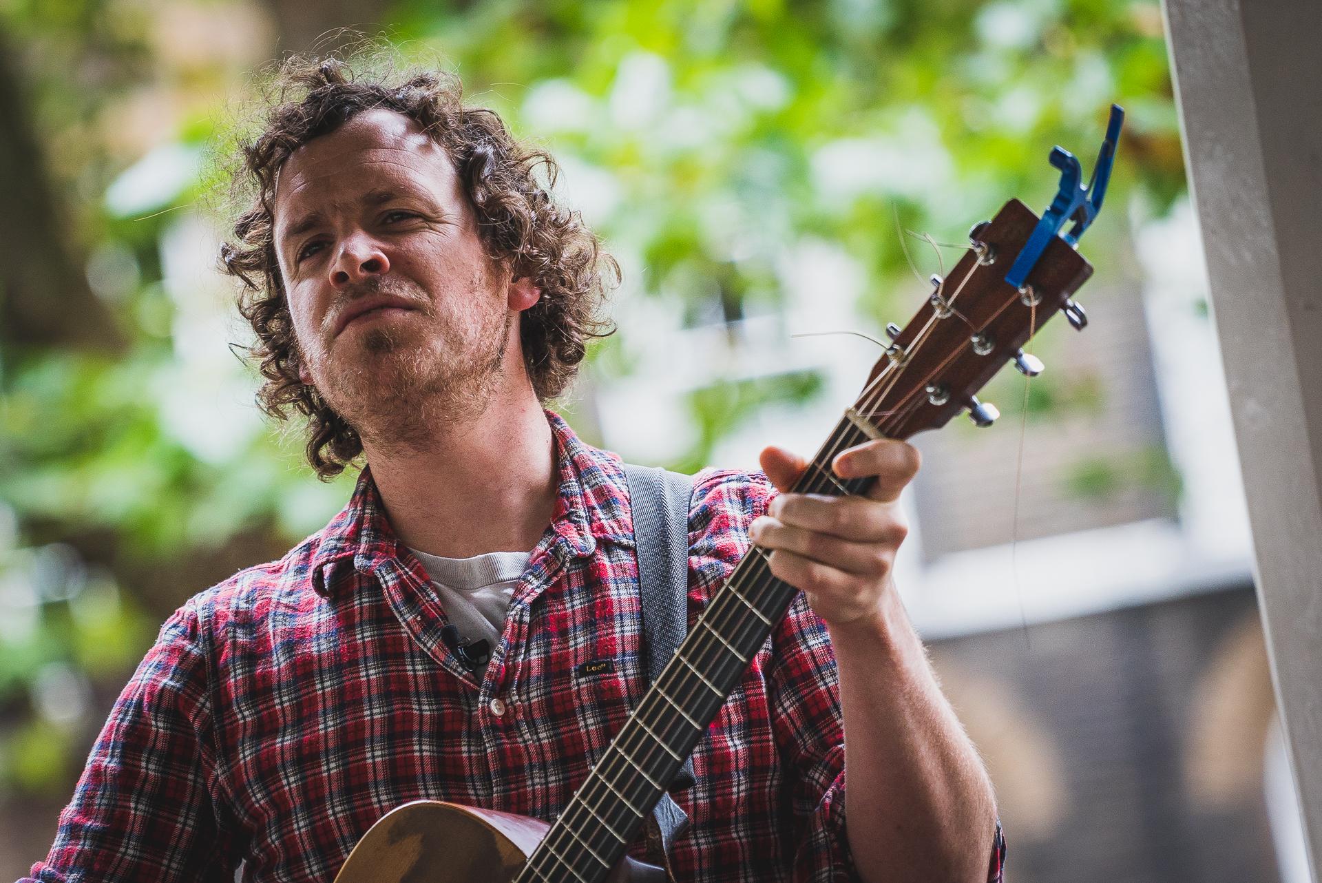 Bandstand Busking: Seamus Fogarty