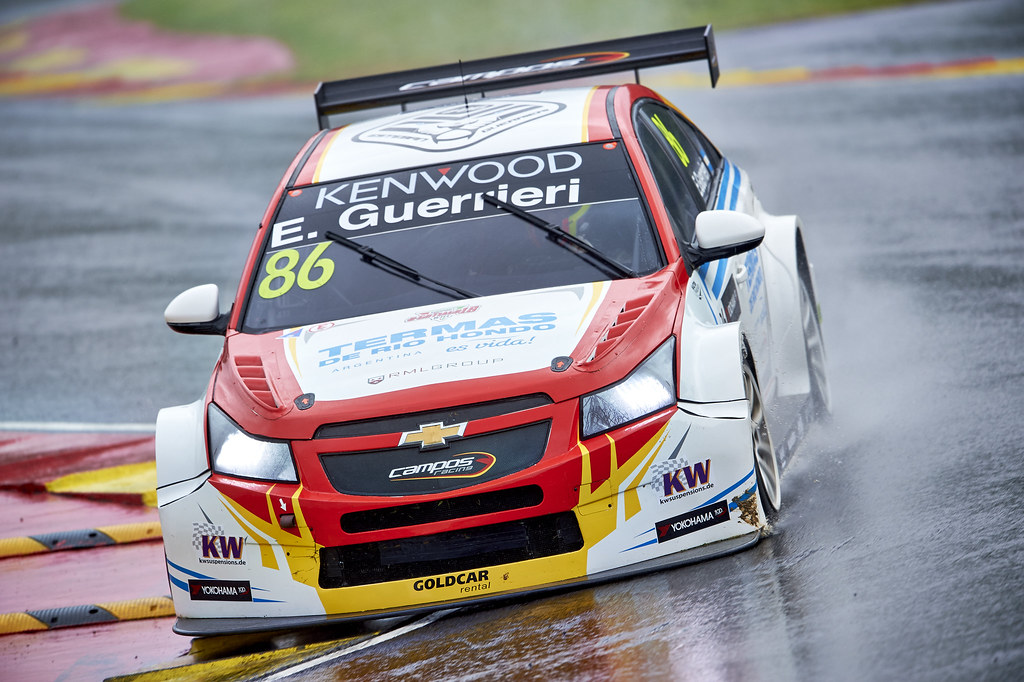 during the 2017 FIA WTCC World Touring Car Championship at Ningbo, China, October 13 to 15 - Photo David Noels / DPPI Esteban Guerreri, Chevrolet Cruze, Campos Racing