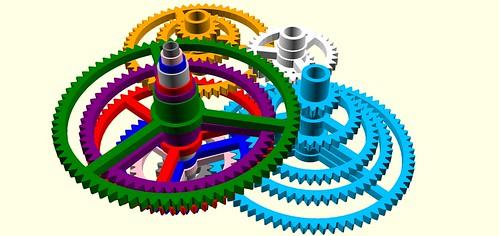 Orrery gears