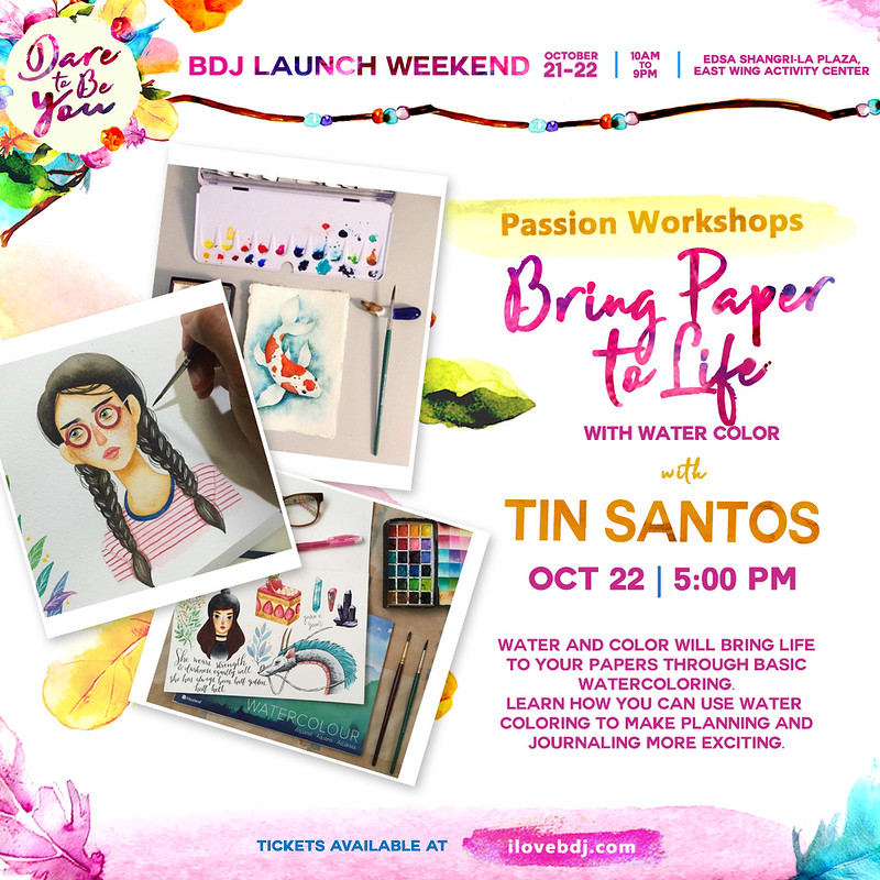 BDJ FAIR 2018_PLANNER LAUNCH WEEKEND_PASSION WORKSHOP_WATERCOLOR FOR BEGINNERS DAY 2