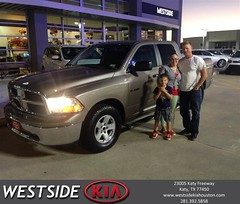 #HappyBirthday to Kevin from Rick Hall at Westside Kia!
