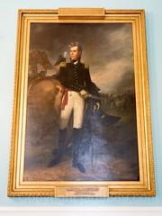 Andrew Jackson Painting (1823) by John Vanderlyn, New York City Hall, Lower Manhattan, New York City