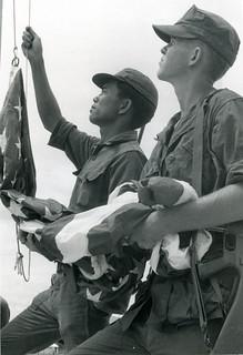 Flag Raising, 4 August 1968