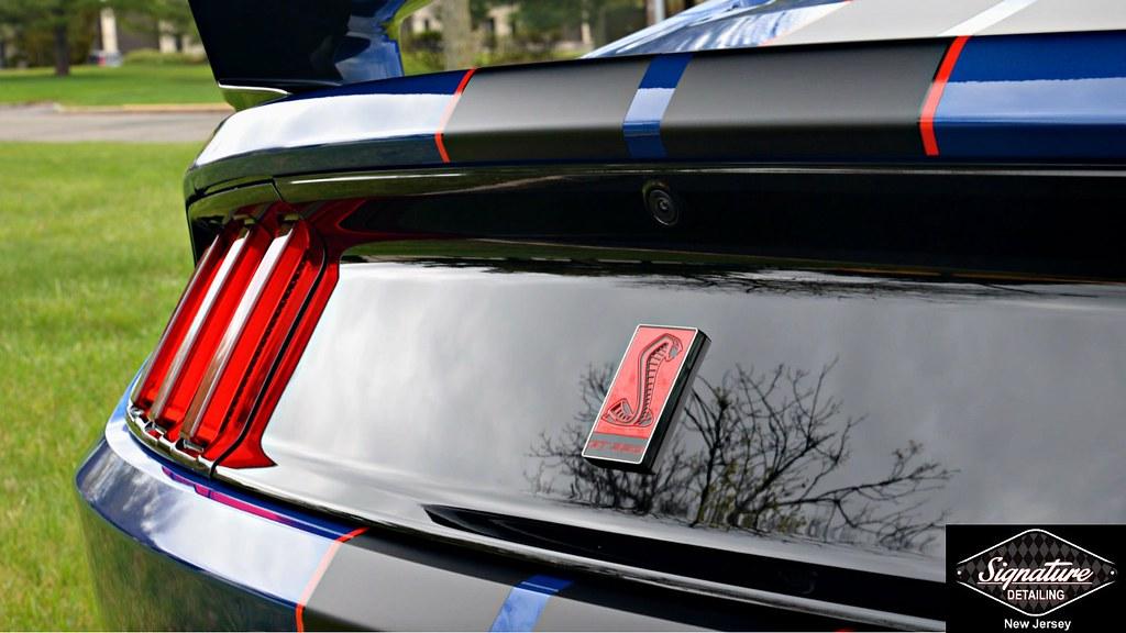 Signature Detiling NJ - Mustang GT530R PPF & Ceramic Nano Coating Service