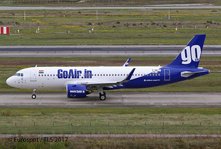 F-WWIT Airbus A320 Go Air