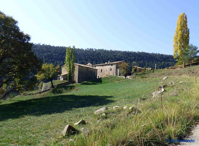 Solsonès 2017 - Exc 03 - Serra de Pratformiu -02- Serra de Guixers -02- Sant Martí de la Corriu -01- Casa señorial y ermita de Sant Martí -01