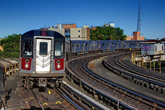 NYC Subway - IRT West Farns/White Plains Rd Line - East Tremont Ave/177th St/West Farms Square - #2 Train - R-142 6491