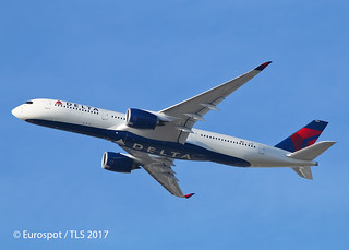 F-WZNA Airbus A350 Delta
