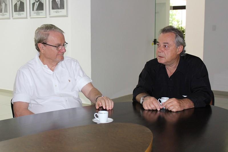 Visita do ex-prefeito de BH, Marcio Lacerda ao CCCMG
