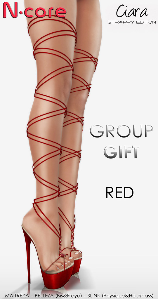 "N-core CIARA ""Strappy Edition"" (Red) GROUP GIFT! - TeleportHub.com Live!"