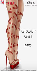"N-core CIARA ""Strappy Edition"" (Red) GROUP GIFT!"