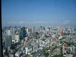 六本木ヒルズから(ワンピース展)01