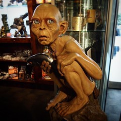 A life size Gollum at the Weta Cave A gorgeously executes sculpture of Gollum with so much detail. I'm not quite a big enough fan to want this for my own home, but it was very cool. #wellington #wetacave #wetastudios #newzealand #lotr #lordoftherings #mov